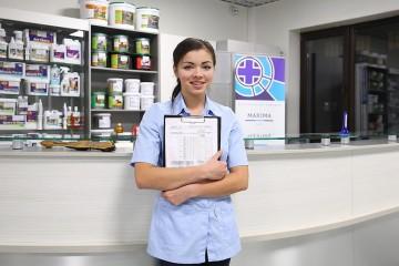 Ресепшн клиники Maxima Vet