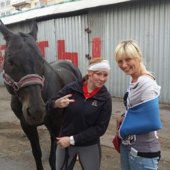 Потапова_Конный спорт - самый лучший и безопасный спорт в мире. А лошади - добрые и хорошие животные