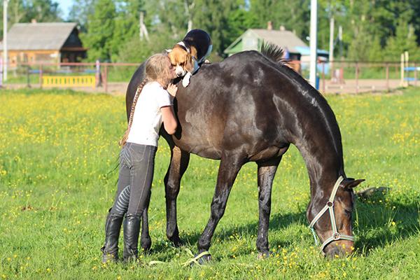 Кузнецова_верхом на коне_1
