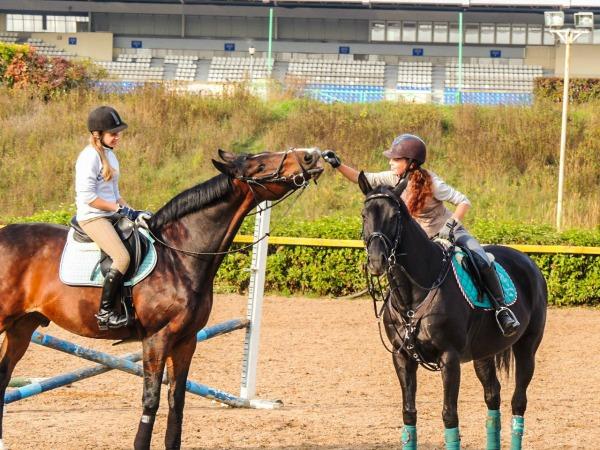 Лукина_Хороший конник и свою лошадь угостит, и для другой кусочек найдет_1